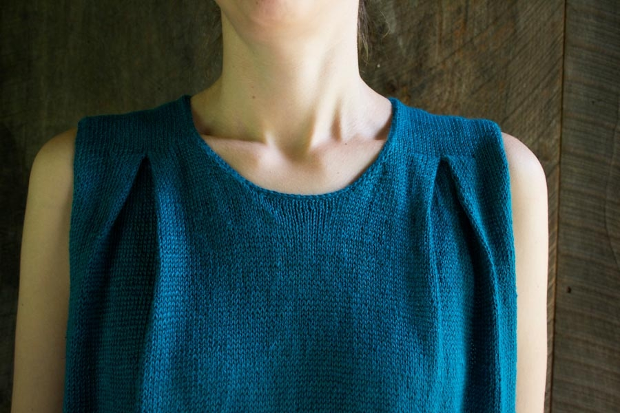 Box Pleat Top | Purl Soho
