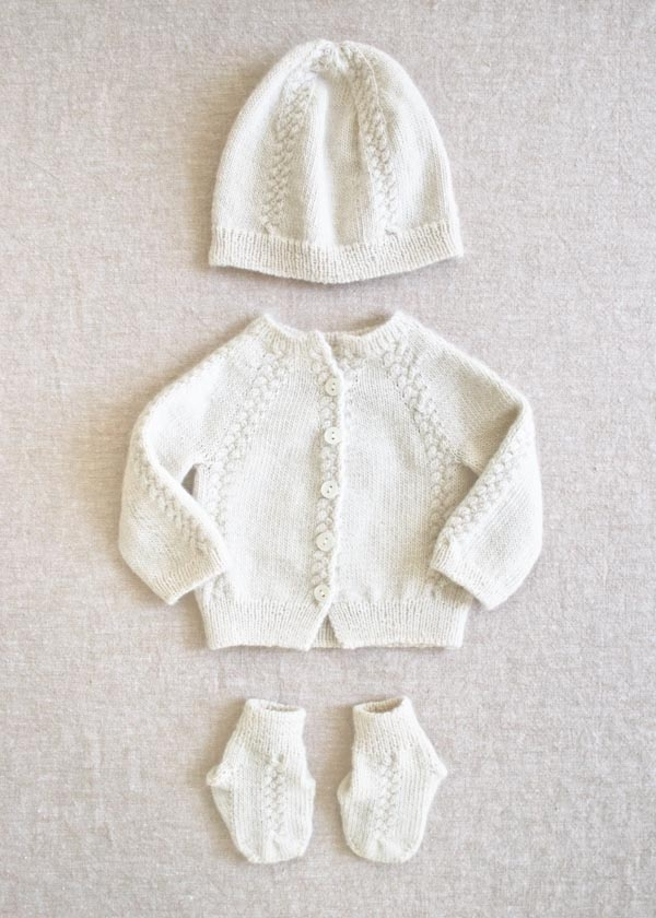 Knitting Patterns For Baby Layettes : Knit Layette Purl Soho