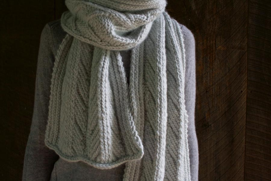 Ancient Stitch Scarf | Purl Soho