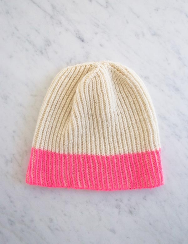 Color Dipped Hat | Purl Soho