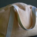 Overnighter Bag in Warsa Linen