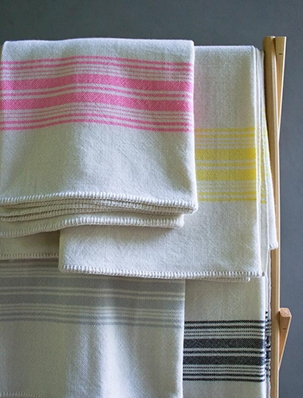 Vintage Stripes Merino Blankets, New from Purl Soho! | Purl Soho