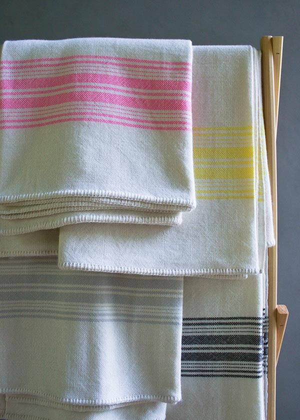 Vintage Stripes Merino Blankets, New from Purl Soho!