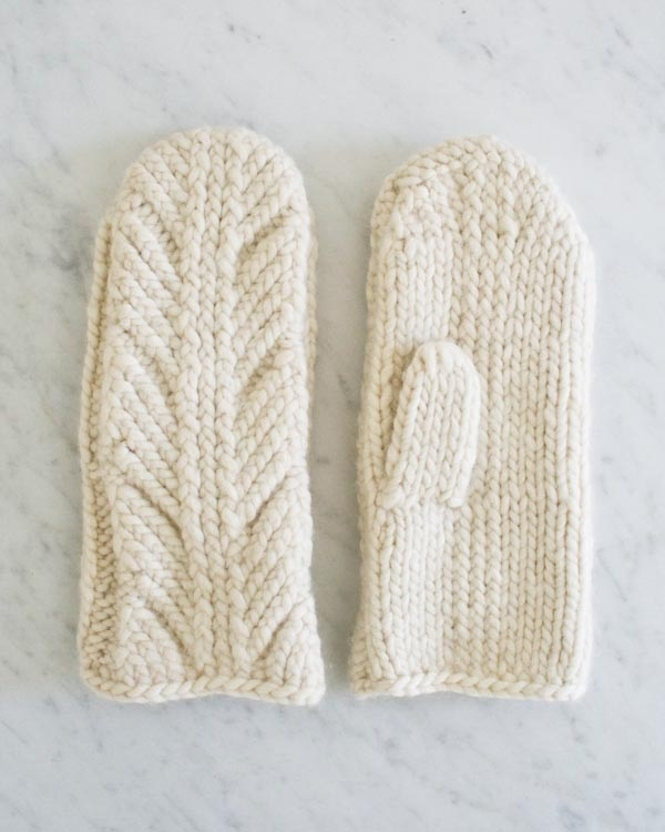 Ancient Stitch Mittens