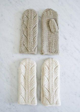 Ancient Stitch Mittens | Purl Soho