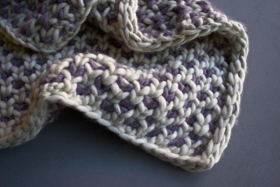 Beautyberry Blanket | Purl Soho