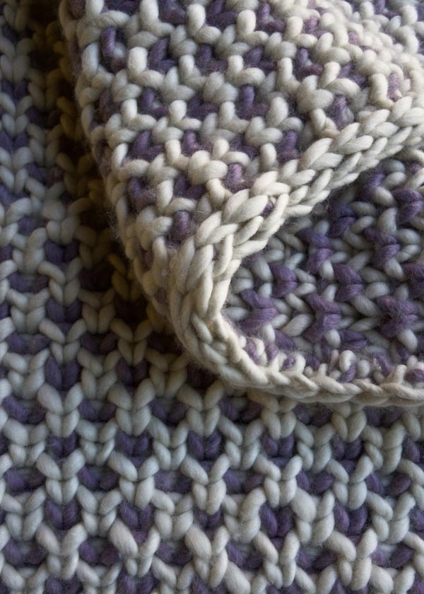 Beautyberry Blanket Purl Soho
