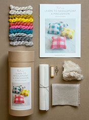Learn to Needlepoint a Pincushion Kit
