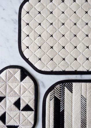 Graphic Needlepoint Trivets | Purl Soho