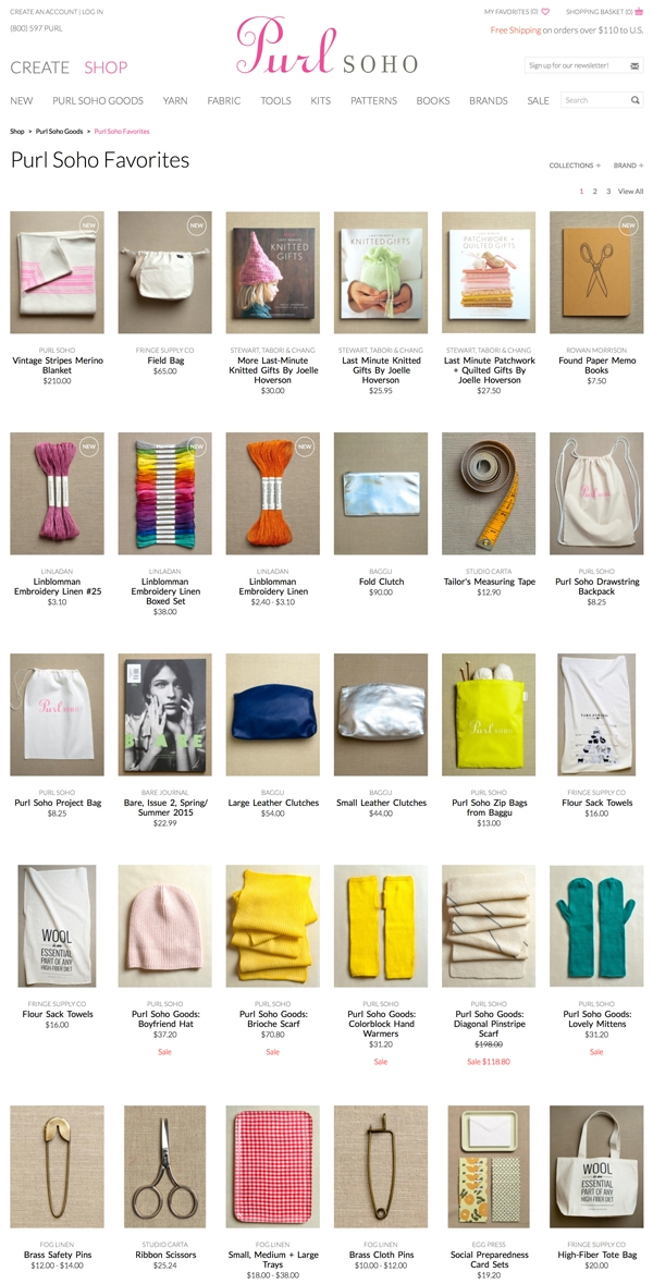 The New purlsoho.com! | Purl Soho