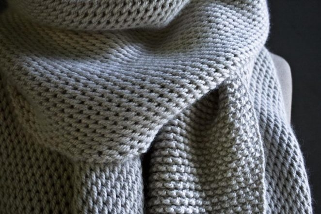 Crochet Knit Stitch Scarf : create crochet accessories tunisian crochet scarf as a young child ...