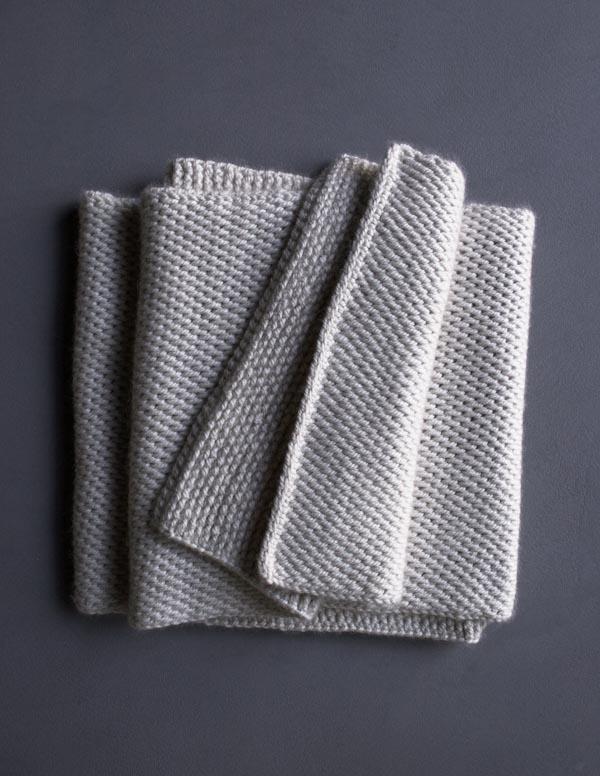 Tunisian Crochet Scarf Purl Soho