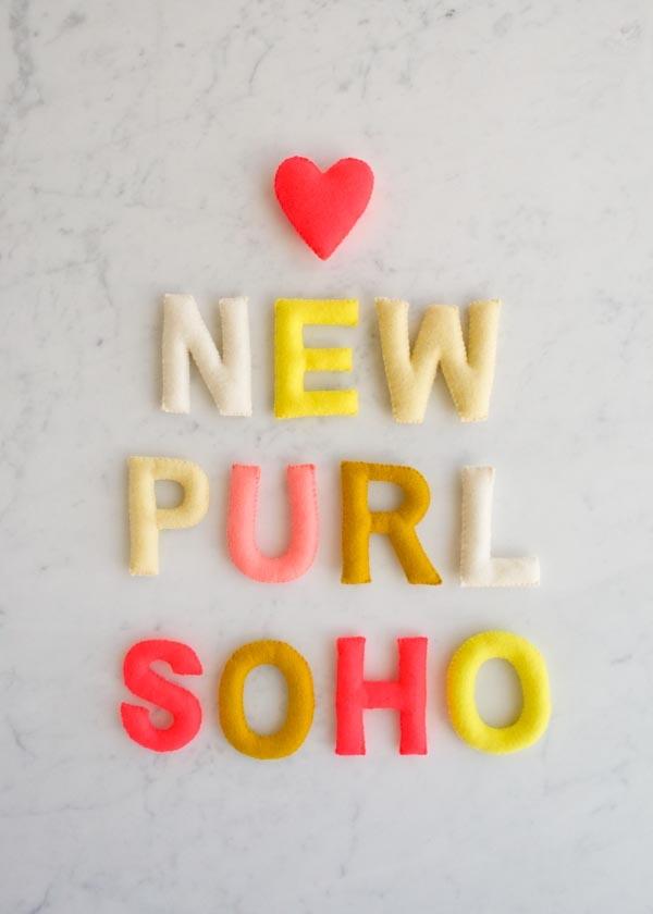 The New purlsoho.com!