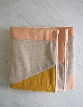 Wool + Linen Patchwork Quilt   Purl Soho