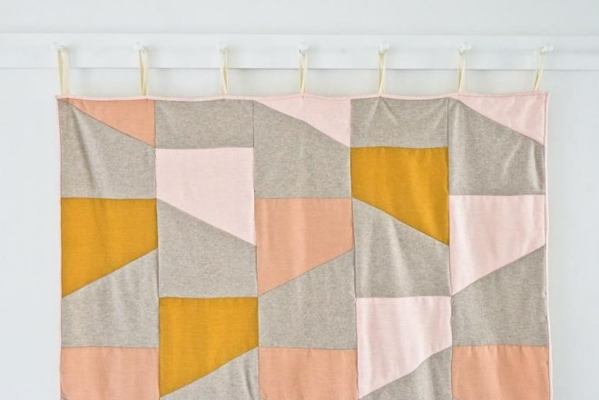 Wool + Linen Patchwork Quilt | Purl Soho