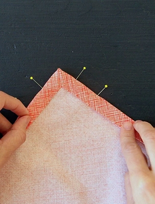 Sewn Mitered Corners | Purl Soho
