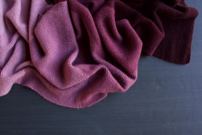 Cashmere Ombré Wrap, Now in Plum! | Purl Soho