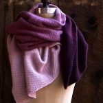 Cashmere Ombré Wrap, Now in Plum!