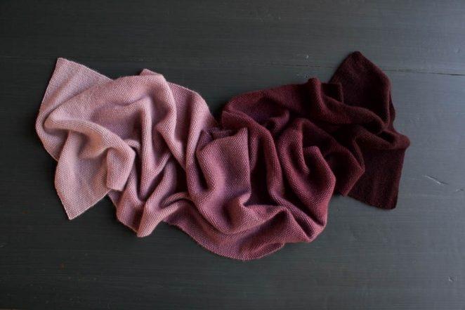 Cashmere Ombré Wrap, Now in Plum! | Purl Soho