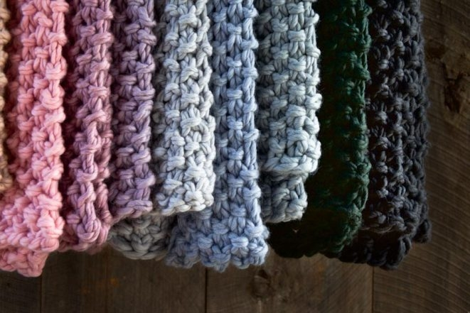 Eleventh Hour Scarf in Gentle Giant | Purl Soho