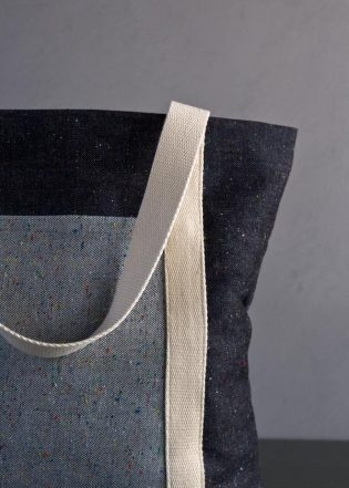 Favorite Totes in Denim with Colored Motes | Purl Soho