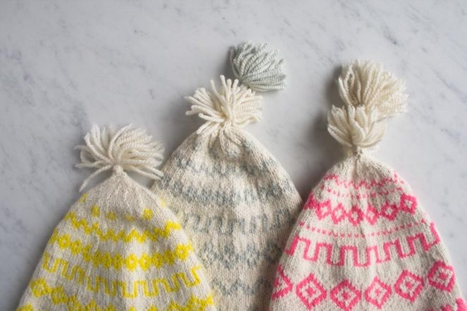New! Purl Soho's Hand Knit Andean Hats | Purl Soho