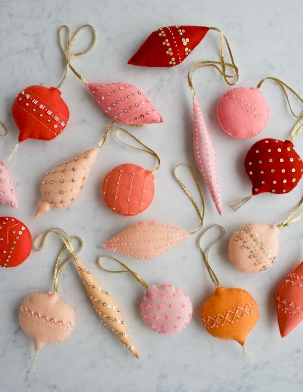 Heirloom Wool Ornaments