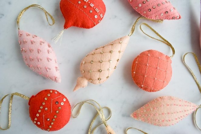 Heirloom Wool Ornaments | Purl Soho