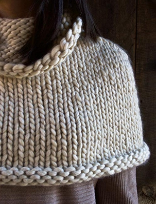 Mountain Capelet | Purl Soho