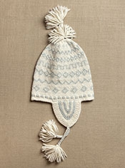Hand Knit Andean Hat
