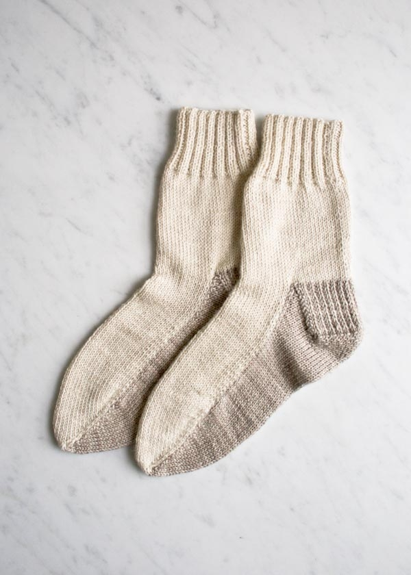 Seamed Socks