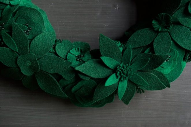 Winter Wreath, Now In Evergreen! | Purl Soho