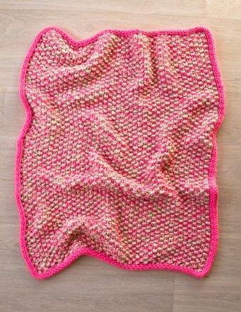 Eleventh Hour Marled Blanket | Purl Soho