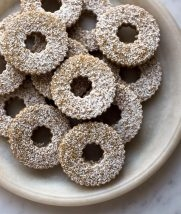 Swedish Rye Cookies from Food52 | Purl Soho