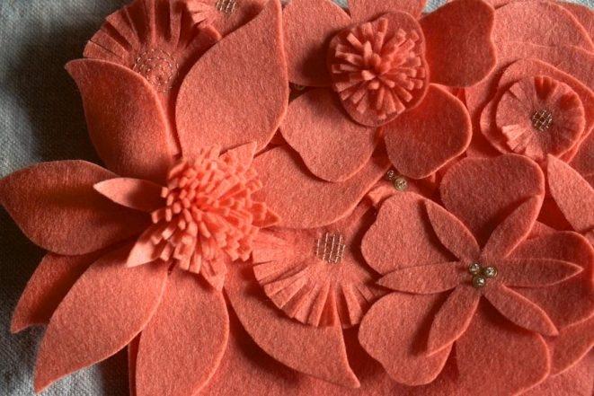 Winter Flower Christmas Stockings | Purl Soho