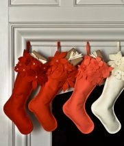 Winter Flower Christmas Stockings | Purl Soho