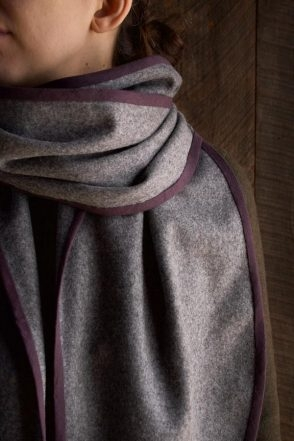 Bound Edge Wool Scarf | Purl Soho