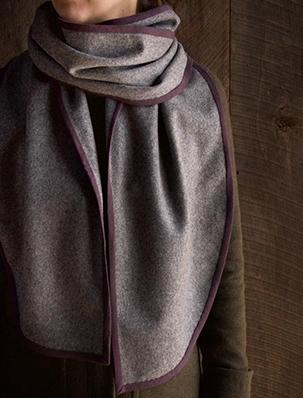 Bound Edge Wool Scarf | Purl Soho