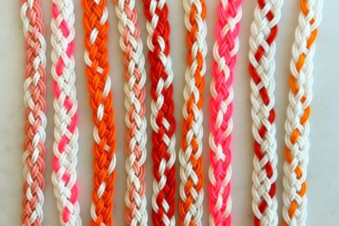 Braided Friendship Bracelets for Valentine's Day | Purl Soho
