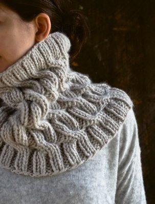 Cozy Cable Cowl | Purl Soho