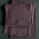 Diagonal Twist Scarf