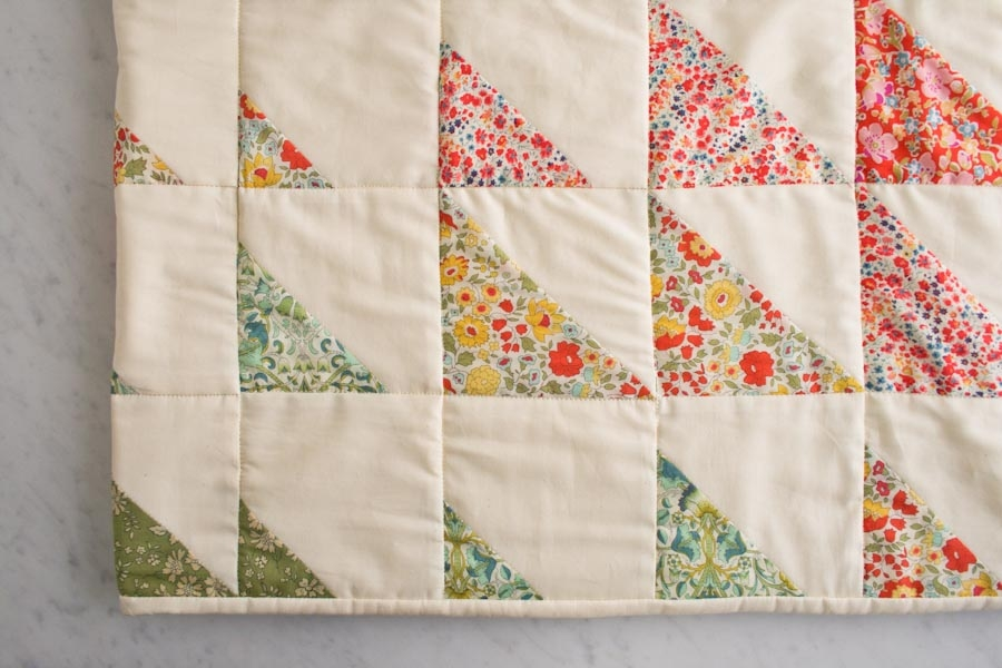 Prism Quilt in Liberty of London | Purl Soho