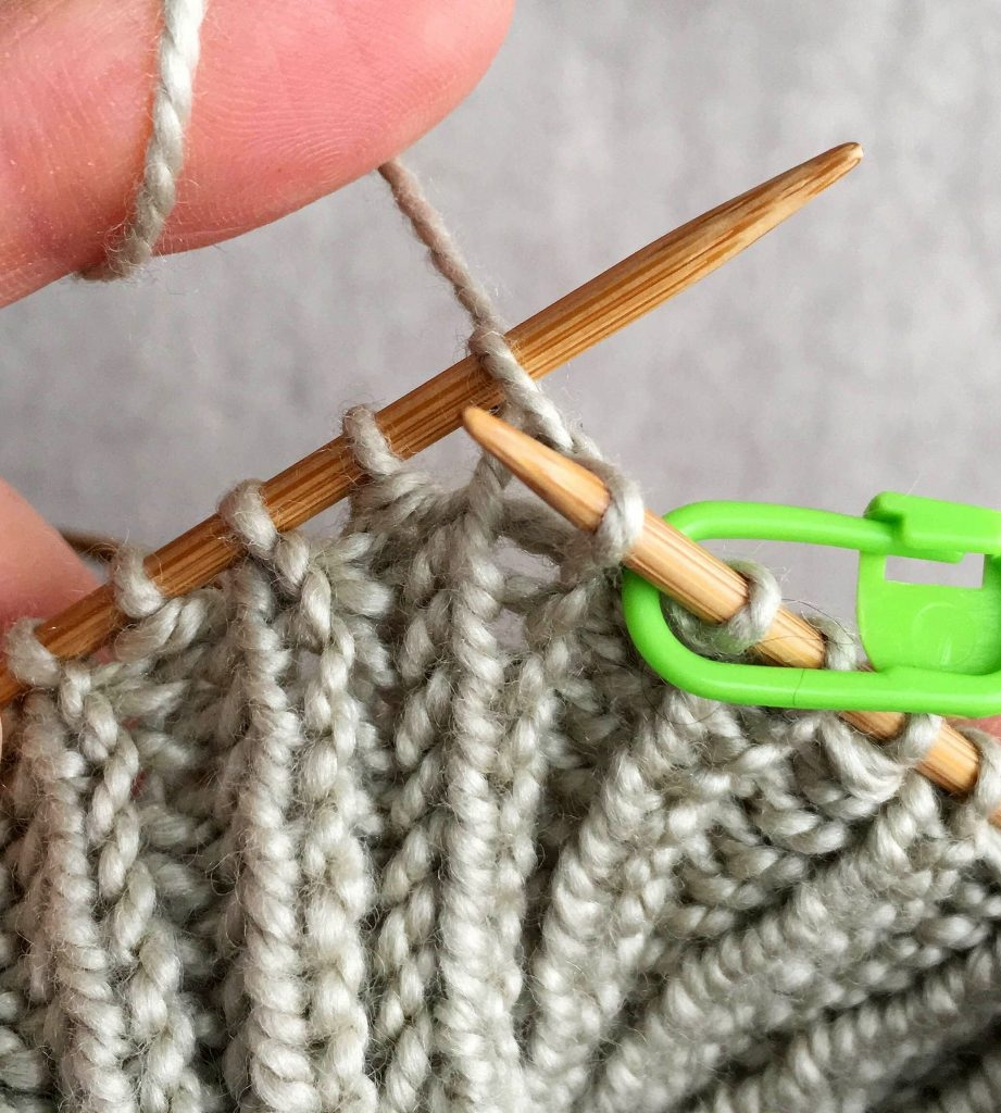 Knit Stitch Below Increase : Fisherman s Rib Hand Warmers Purl Soho