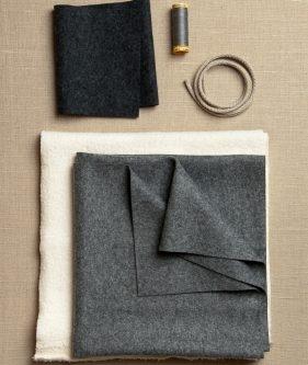 386274ced Wool + Cotton Sewn Ear Flap Hat | Purl Soho