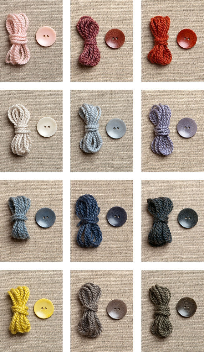 Purl Soho's Dyed to Match Buttons | Purl Soho