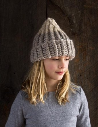 Giant Twisted Rib Hat | Purl Soho