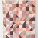 Modular Blocks Quilt in Orchid