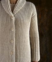 Top-Down Shawl Collar Cardigan | Purl Soho