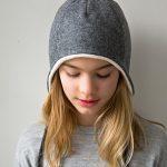 Wool + Cotton Sewn Ear Flap Hat