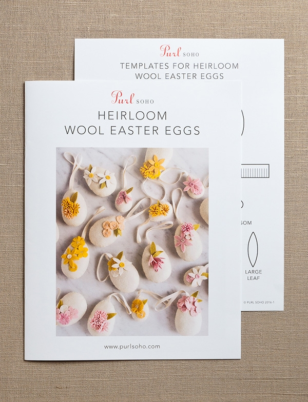 Heirloom Wool Easter Eggs | Purl Soho